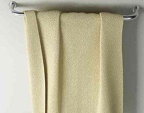 3D model restroom Towel