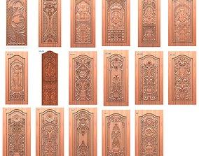 100 pcs Door relief files for artcam programmes 3D