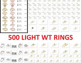 500 Light wt ring 3D model