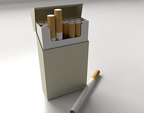 Cigarette Box 3D model