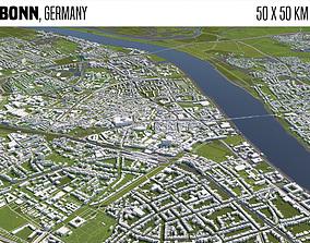berlin Bonn Germany 3D model