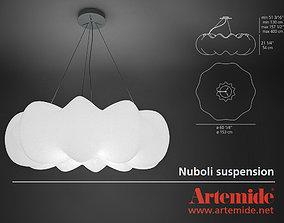 3D model Artemide Nuboli suspension