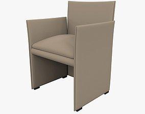 3D model Chair 401 Break Mario Bellini