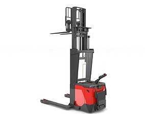 3D model Electric Stacker Rigged