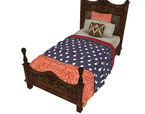 3D asset Bedcloth 98