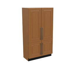 3D asset Kitchen Cupboard -Tall Unit