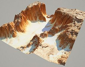 3D Detailed Canyon Model