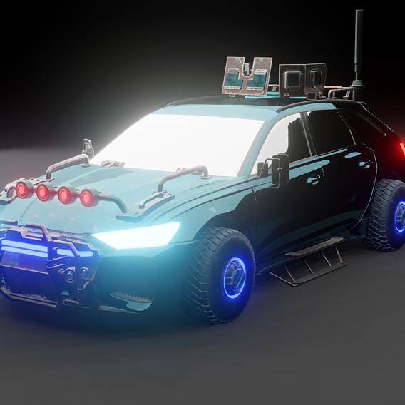 Scifi car