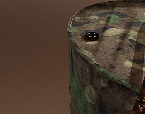 Military Barrel 3D asset