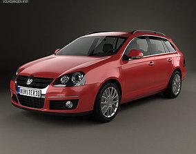 volkswagen Volkswagen Golf Variant 2007 3D