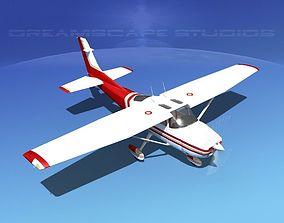 3D model Cessna 182 Skylane V02