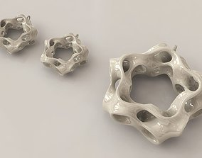 3D printable model Coral Earrings and Neckalce