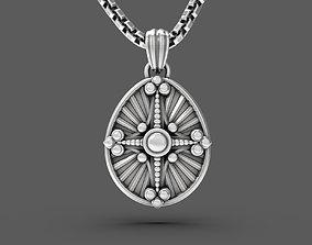 3D printable model Easter egg Pisanka pendant with 3