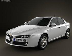 Alfa-Romeo 159 sedan 2009 3D model