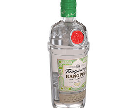 Tanqueray Rangpur 70cl Bottle 3D model