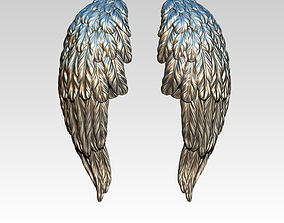 3D printable model Detailed wing set