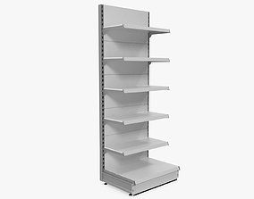 storage Supermarket Shelf 3D