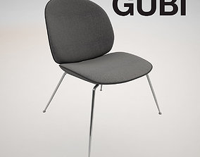 3D model LOUNGE CHAIR BEETLE BY GUBY