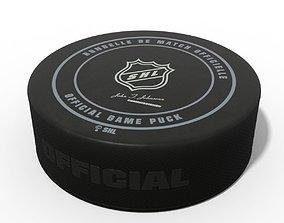 3D model Ice Hockey Puck