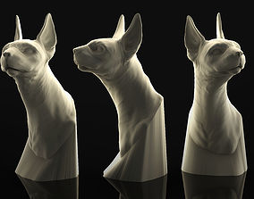 Sphinx Cat 3D Printable Sculpture