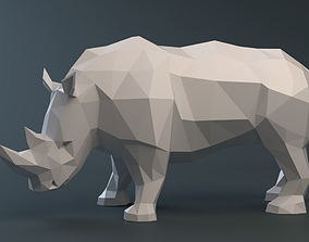 3D printable model Rhinoceros