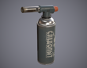 Blowtorch 3D model realtime