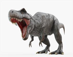 Tyrannosaurus Rex Rigged for Blender 3D asset