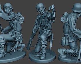 German soldier ww2 Schiessbecher2 G5 3D printable model