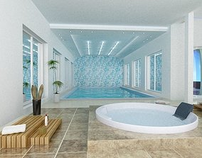 3D model Swimming pool massage