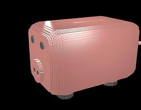 3D model Money box voxel