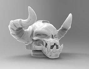 demonskull helmet 3D printable model
