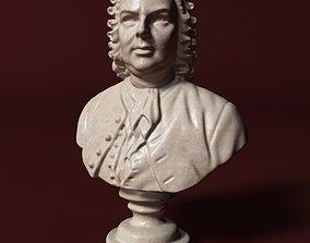 3D model Bach Bust