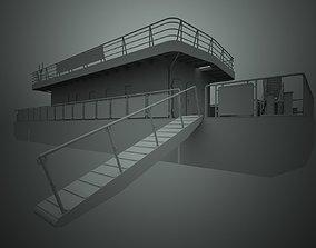 3D asset Landing stage