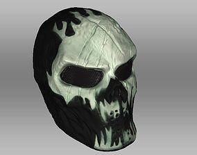 Mask Military Fortnite Style - 3D Scanned Model