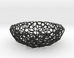 Bowl - Voronoi-Style No I 3D print model