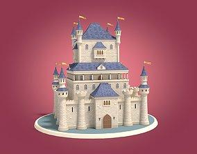 construction Cartoon Medieval Castle 3D