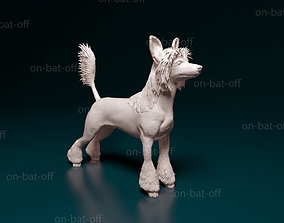 Chinese Crested Dog miniatures 3D print model