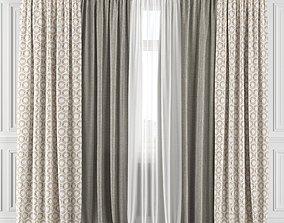Curtain Set 141C 3D model