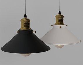 Vintage LED Pendant Light 3D model