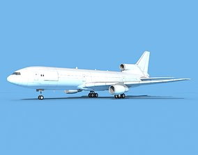 Lockheed L1011 Unmarked Cargo 3D model