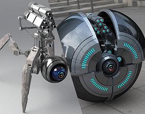 3D model Spider Robot v2