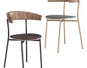 realtime Morrison Side Chair 3d model