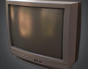 Television 01 Retro 80s 3D model