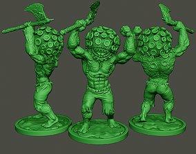 3D print model Humanoid virus 0002
