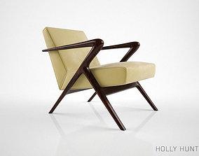 Holly Hunt Capri Lounge Chair holly 3D model