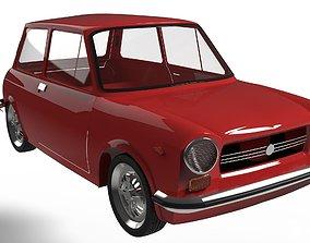 3D model Autobianchi A112 1971
