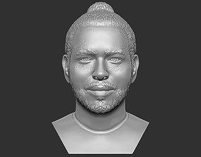 Post Malone bust 3D printing ready stl obj