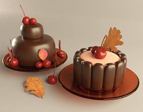 Chocolate Dessert 3D