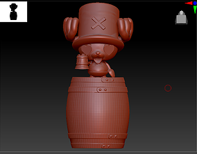 Tony Tony Chopper loves beer 3D printable model