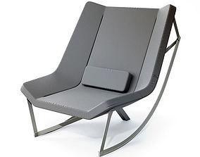 3D model Modern Grey Armchair